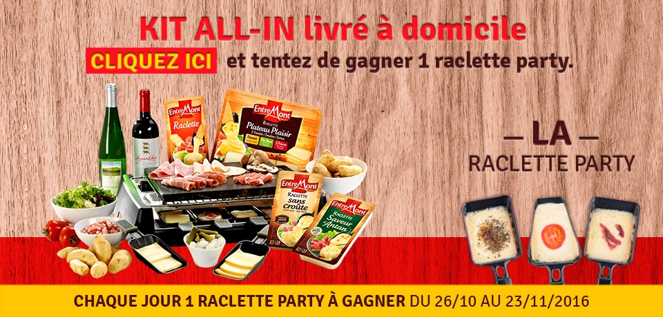 KIT ALL-IN Raclette party