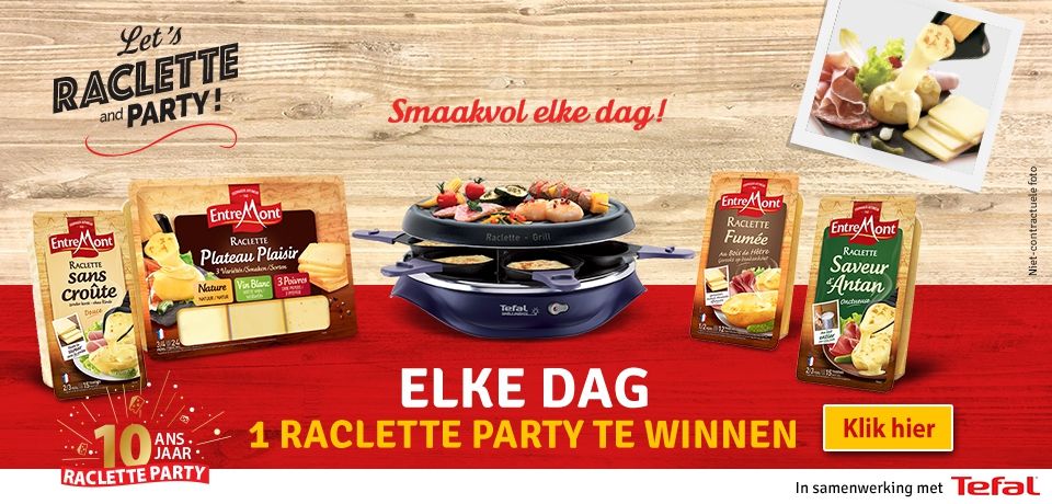 Let's Raclette and Party !